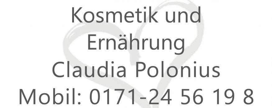 Kosmetik und Ernährung Claudia Polonius