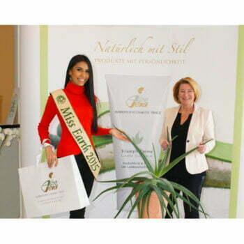 """""""Miss Earth"""" visiting us in Peißenberg"""